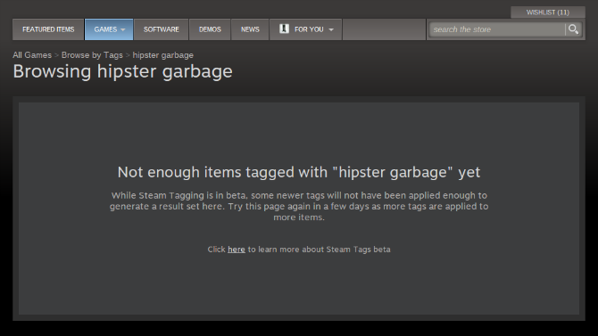 No Hipster Garbage