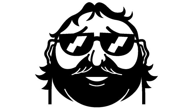 mascot-bw